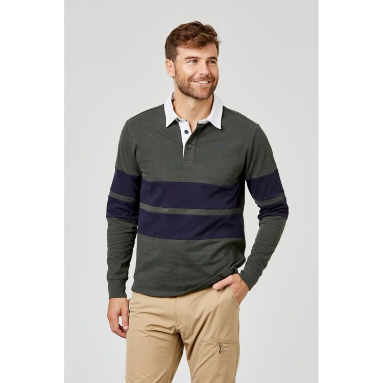 JEEP AUTHENTIC COTTON RUGBY TOP