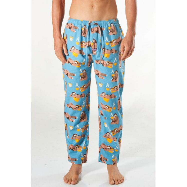 MITCH DOWD Slow Sloth Morning Fannel Sleep Pant