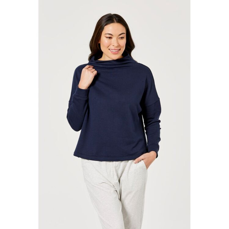ANTHOLOGY COCOON SWEAT TOP
