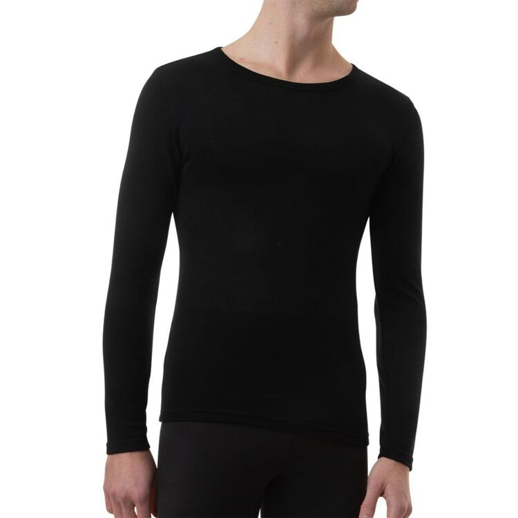 UNDERWORKS Men's Merino Wool Blend Long Sleeve Thermal