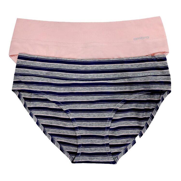 AMBRA 2 Pack Smooth Lines Bikini