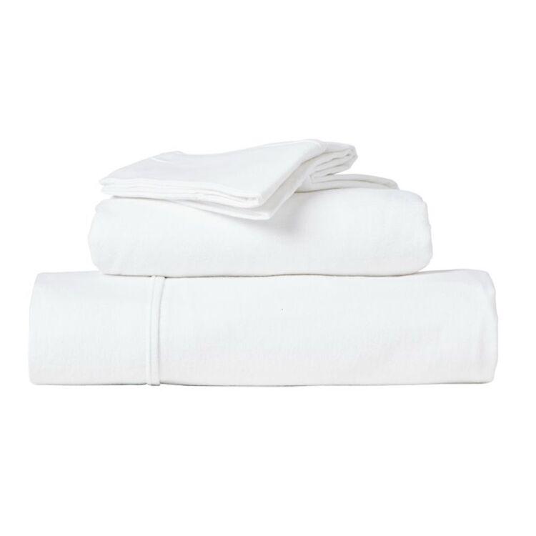 RAMESSES EGYPTIAN COTTON FLANNELETTE SHEET SET QUEEN BED