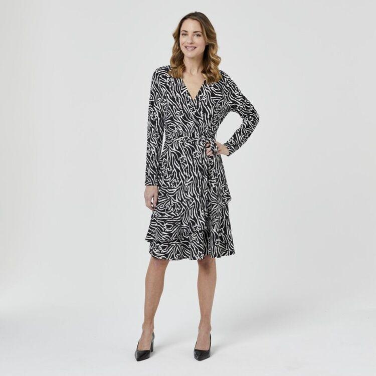 JANE LAMERTON Wrap Dress