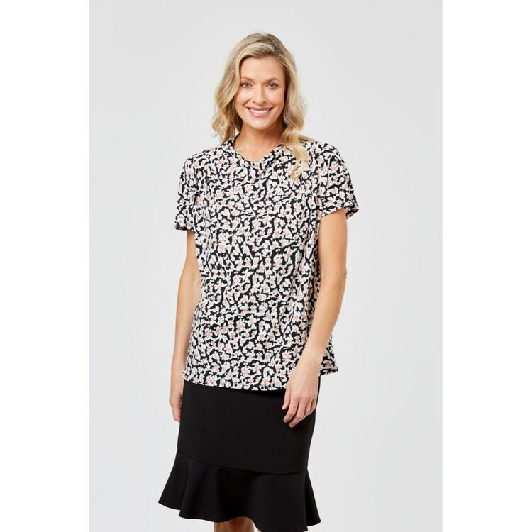 KHOKO SMART Extended Cowl Jersey Top