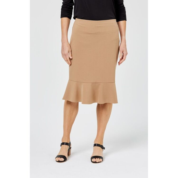 KHOKO SMART Fluted Solid Skirt