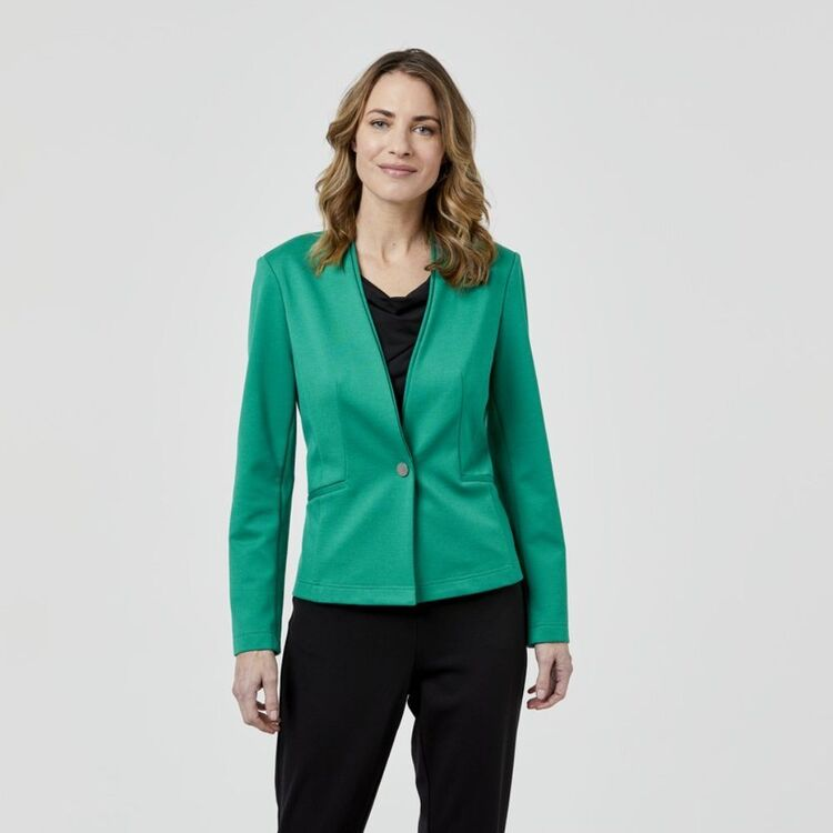 JANE LAMERTON Double Collar Jacket
