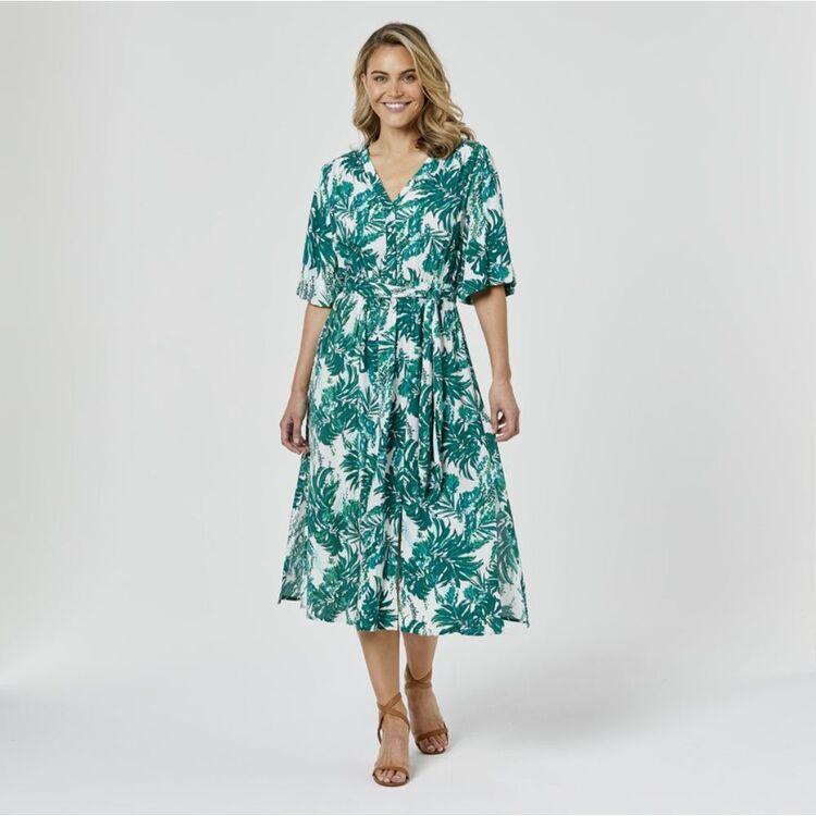 JB JAYSON BRUNSDON Tropicale Midi Dress