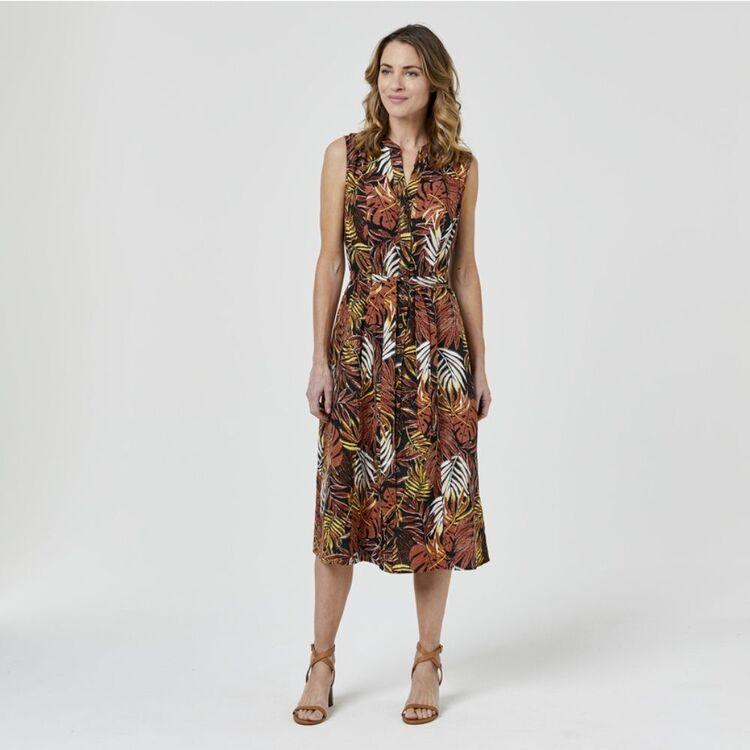 JANE LAMERTON Linen Blend Shirtmaker