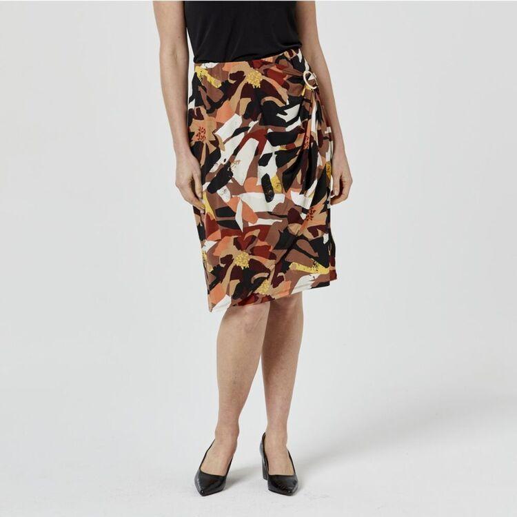 JANE LAMERTON D Ring Wrap Skirt