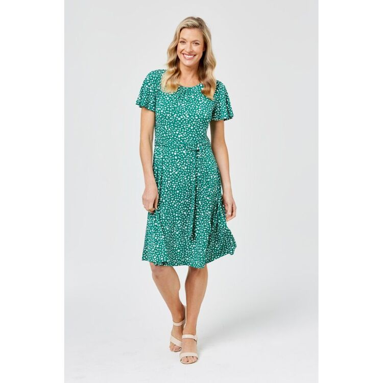 KHOKO SMART Fit and Flare Jersey Dress
