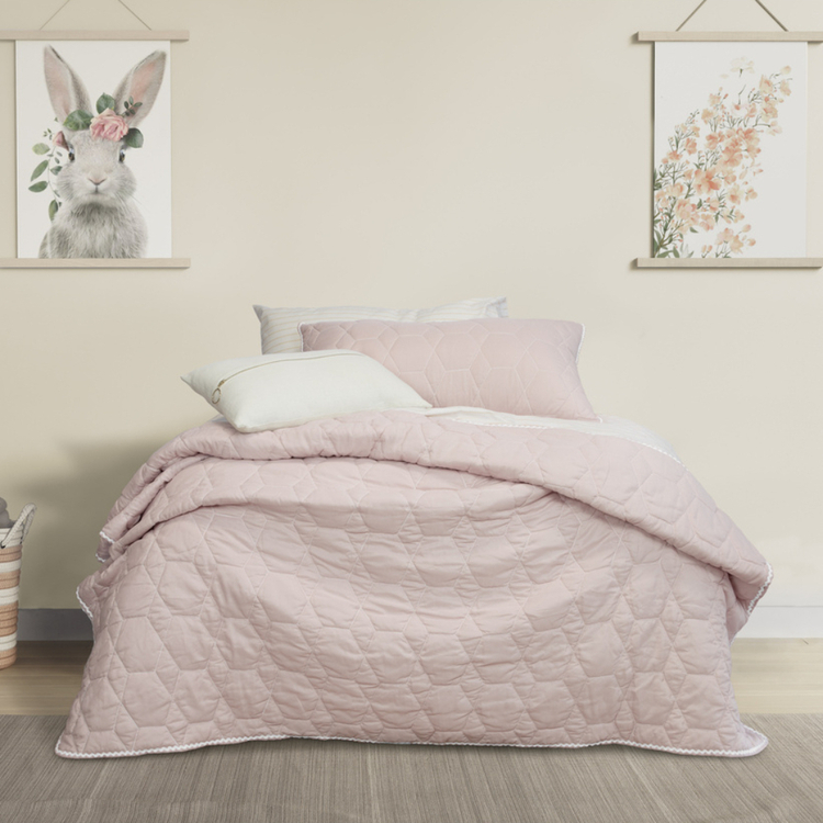 JELLY BEAN KIDS BOLSTON COVERLET SET SINGLE BED/DOUBLE BED