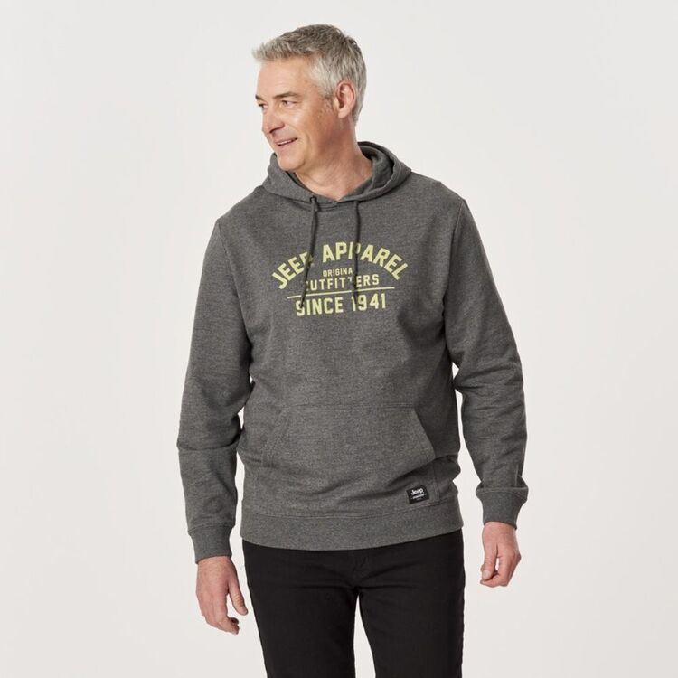 JEEP COTTON BLEND FRENCH TERRY OUTFITTER HOODIE
