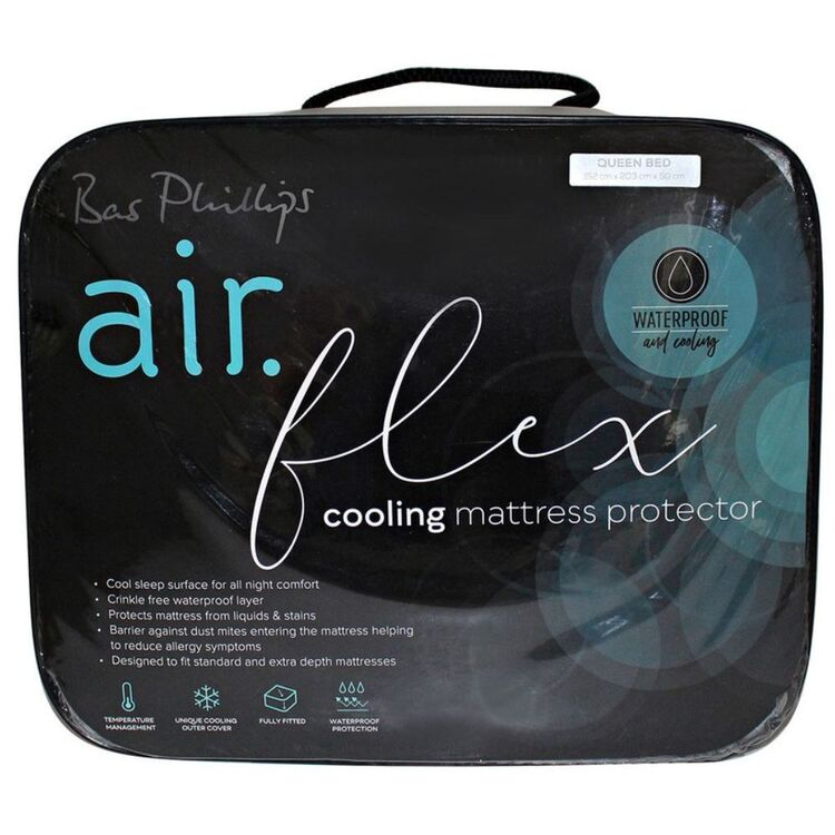 BAS PHILLIPS Airflex Cooling Mattress Protector Fitted KB