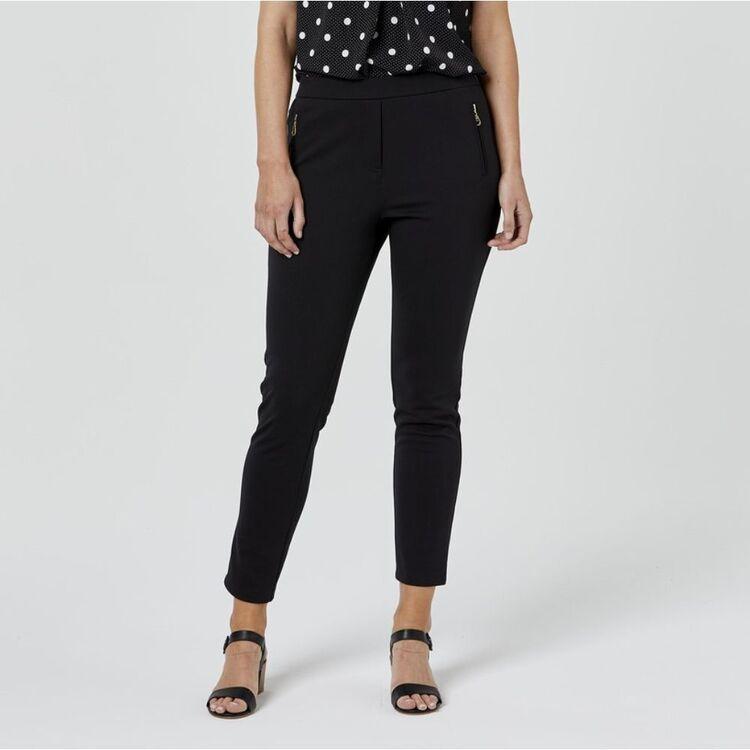 JANE LAMERTON Zip Detail Pant