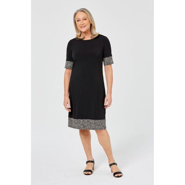 SAVANNAH SHIFT JERSEY DRESS