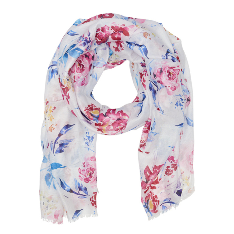 KHOKO COLLECTION FLORAL SCARF
