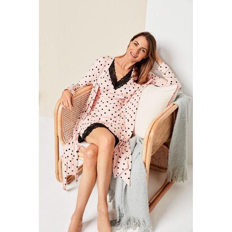 Jane Lamerton Spot Dressing Gown