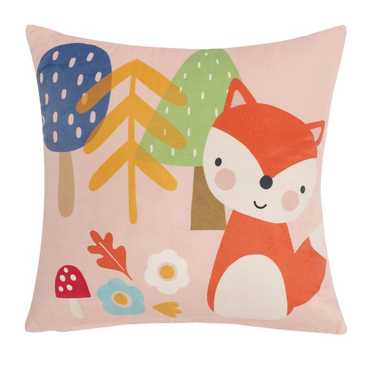 HAPPY KIDS Woodland Park Filled Cushion 40X40CM