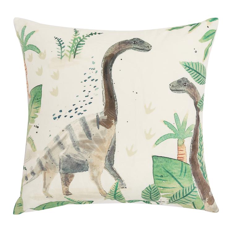 HAPPY KIDS Dino Land Filled Cushion 40X40CM