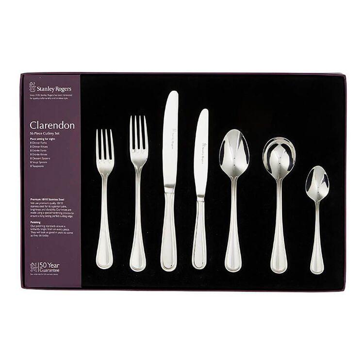 STANLEY ROGERS Clarendon 56pc 18/10 Cutlery Set