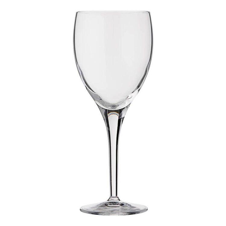 LUIGI BORMIOLI Michelangelo Masterpiece 4pc Randvini White Glass