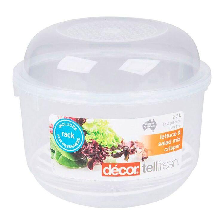 DECOR Tellfresh Plastic Lettuce Crisper 2.7L