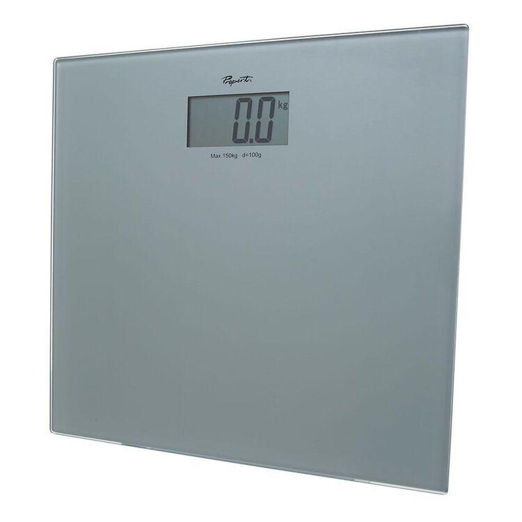 PROPERT Bathroom Scale Digital Silver 150kg