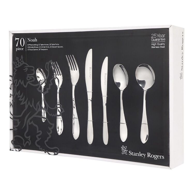 STANLEY ROGERS Noah 70pc Cutlery Set