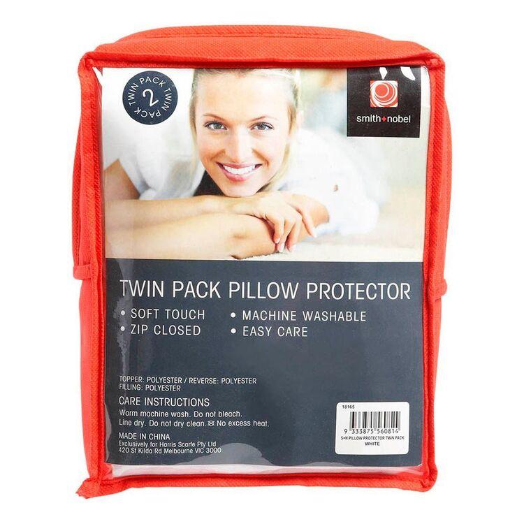 SMITH & NOBEL 2pk Pillow Protector