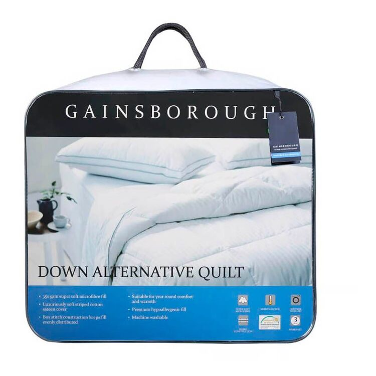 GAINSBOROUGH Down Alternative Quilt Double