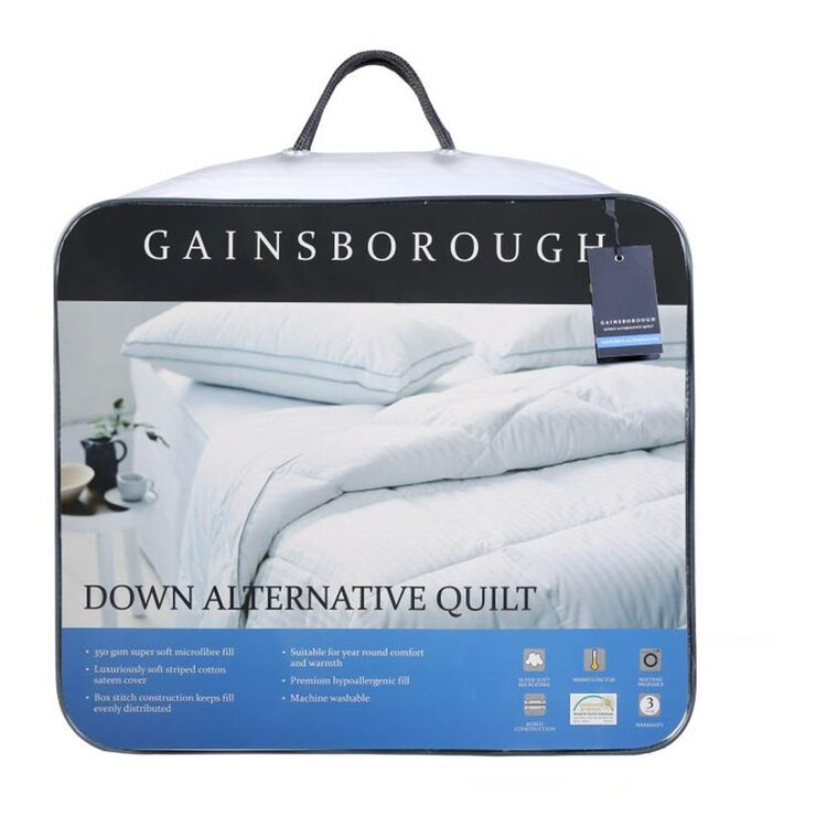 GAINSBOROUGH Down Alternative Quilt King Bed
