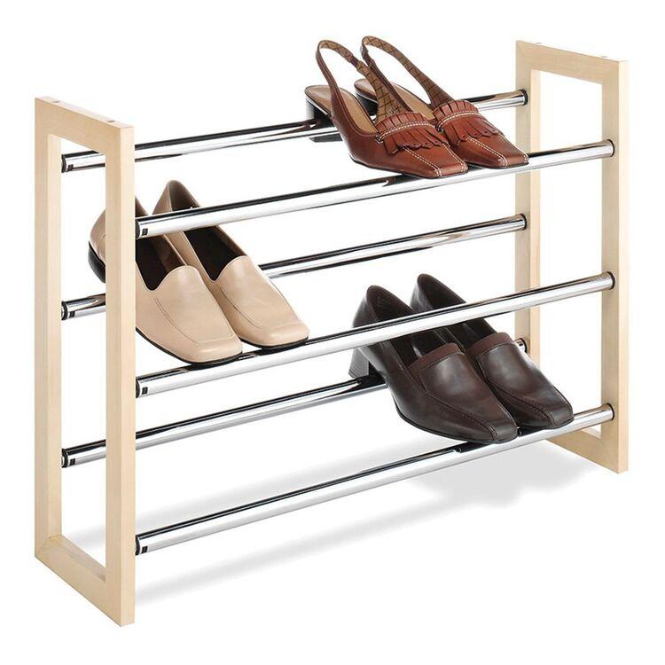 WHITMOR Stackable Shoe Rack
