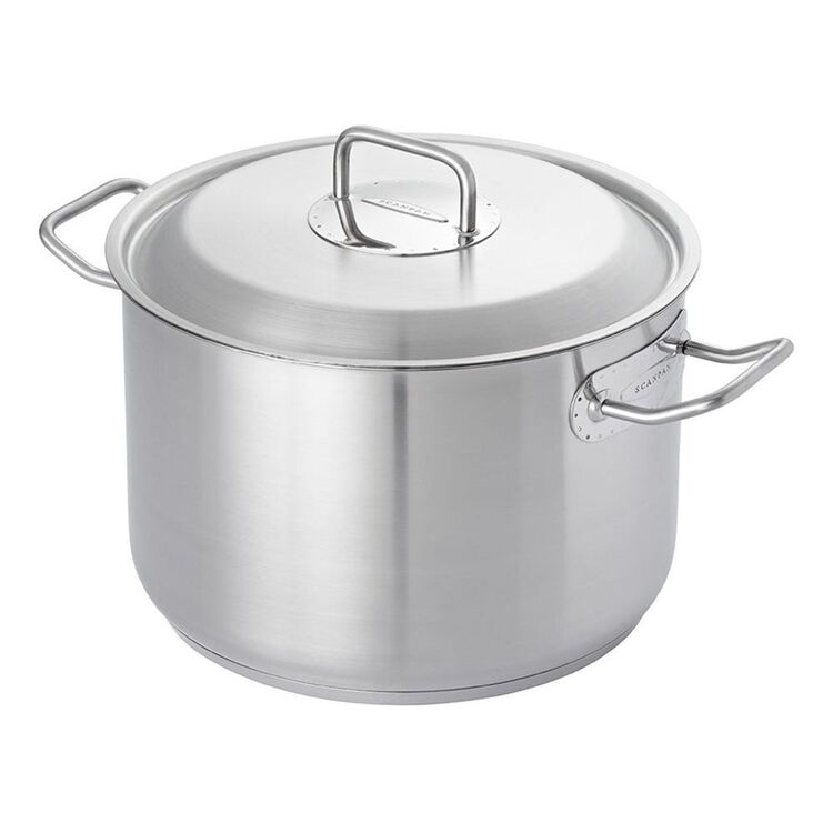 SCANPAN Commercial Stainless Steel Stockpot 11L