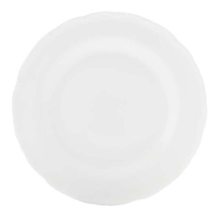 CASA DOMANI Casual White Florence Dinner Plate 26cm
