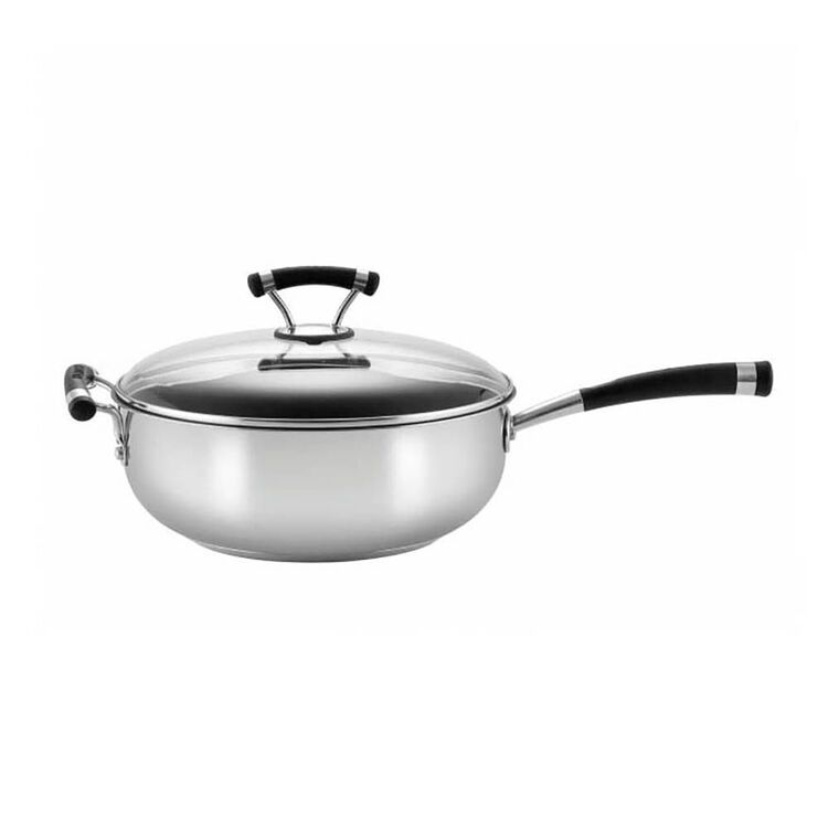 CIRCULON Contempo Stainless Steel Chef's Pan 28cm