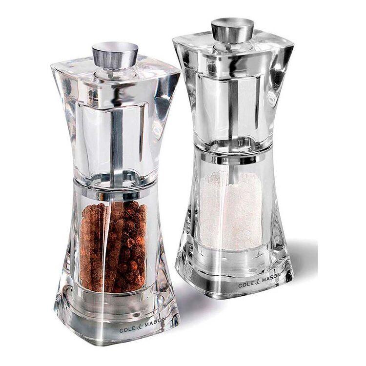 COLE & MASON Precision Salt And Pepper Grinder Set