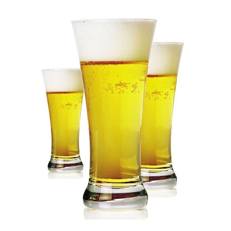ART CRAFT Bira 6pc Pilsner Beer Glass Set