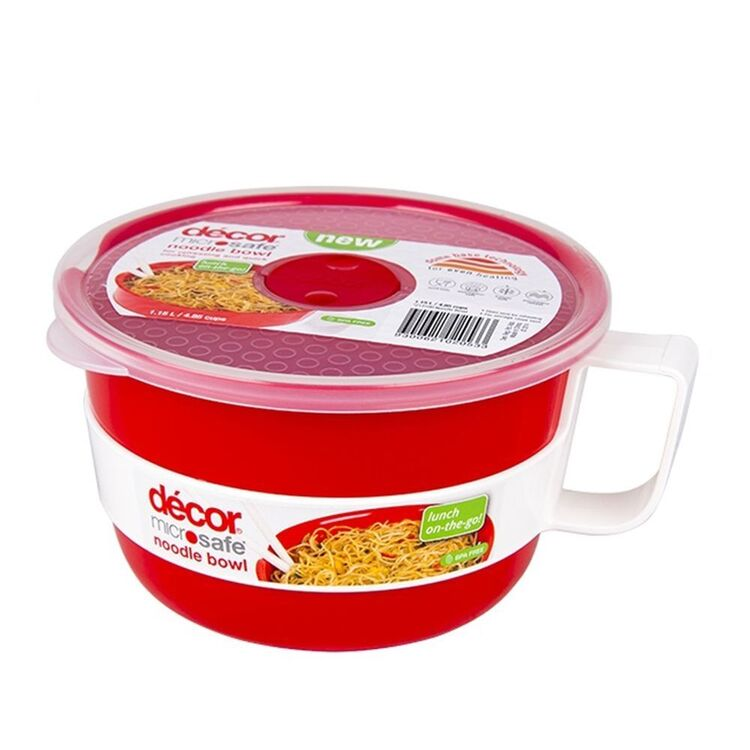 DECOR Microsafe Microwavable Noodle And Oats Bowl 1.15L