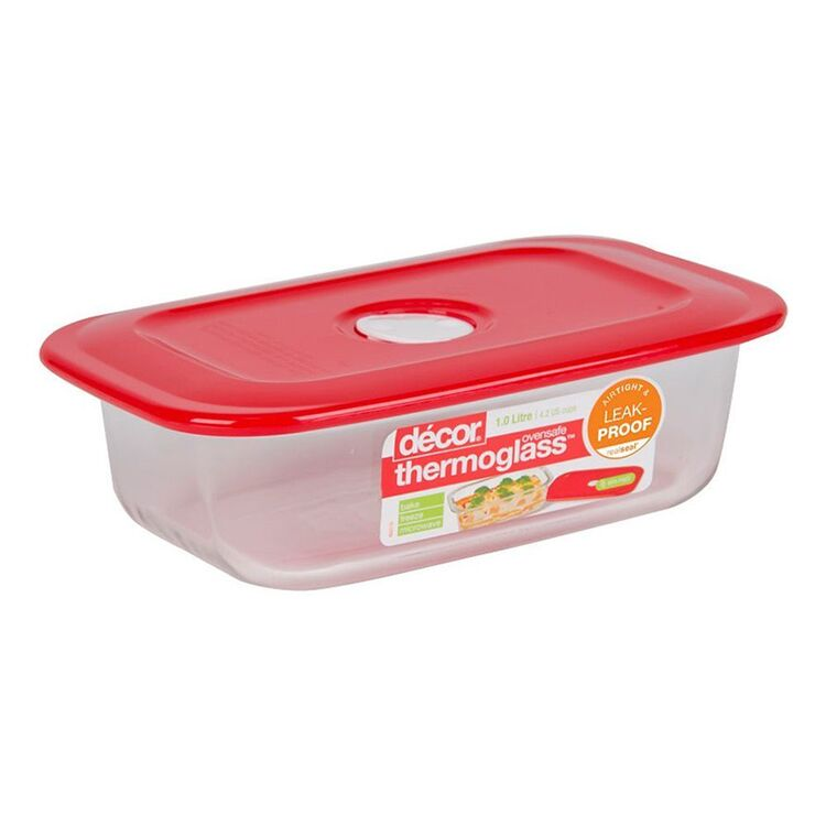 DECOR Thermo Realseal Oblong Baker 1L