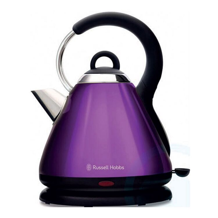 RUSSELL HOBBS Heritage Kettle Purple