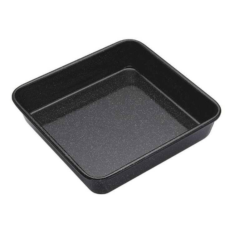 SMITH & NOBEL Professional Non-Stick Bakeware Enamel Square Pan 23x23cm