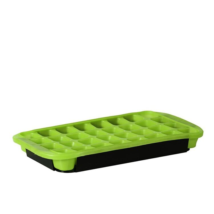 AVANTI 32 Cup Flexible Ice Cube Tray Green