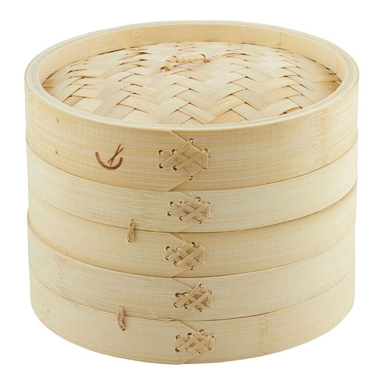 Davis And Waddell DAVIS AND WADELL Bamboo Steamer 20cm