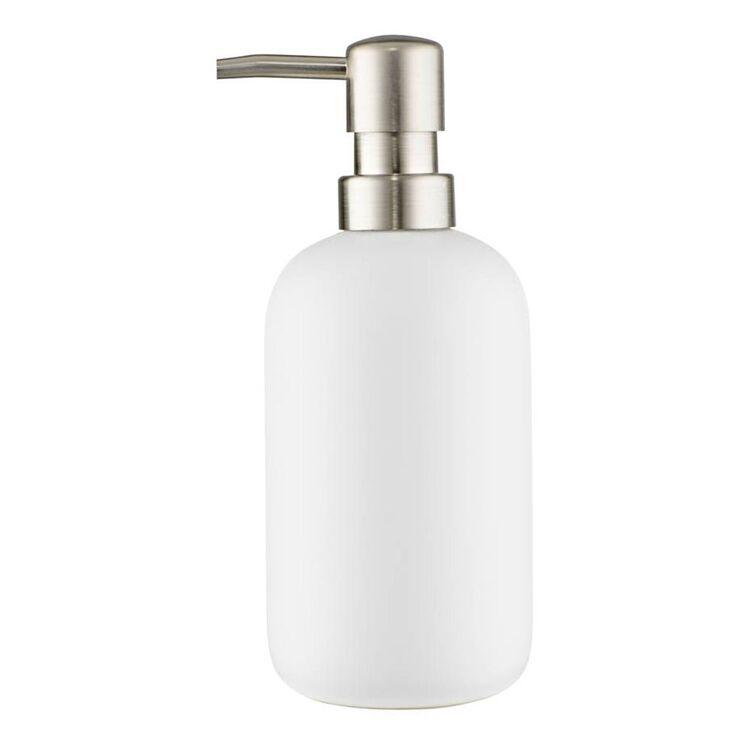 STORE & ORDER Loft Soap Dispenser White