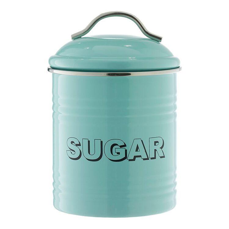 SMITH & NOBEL Retro Sugar Canister Blue