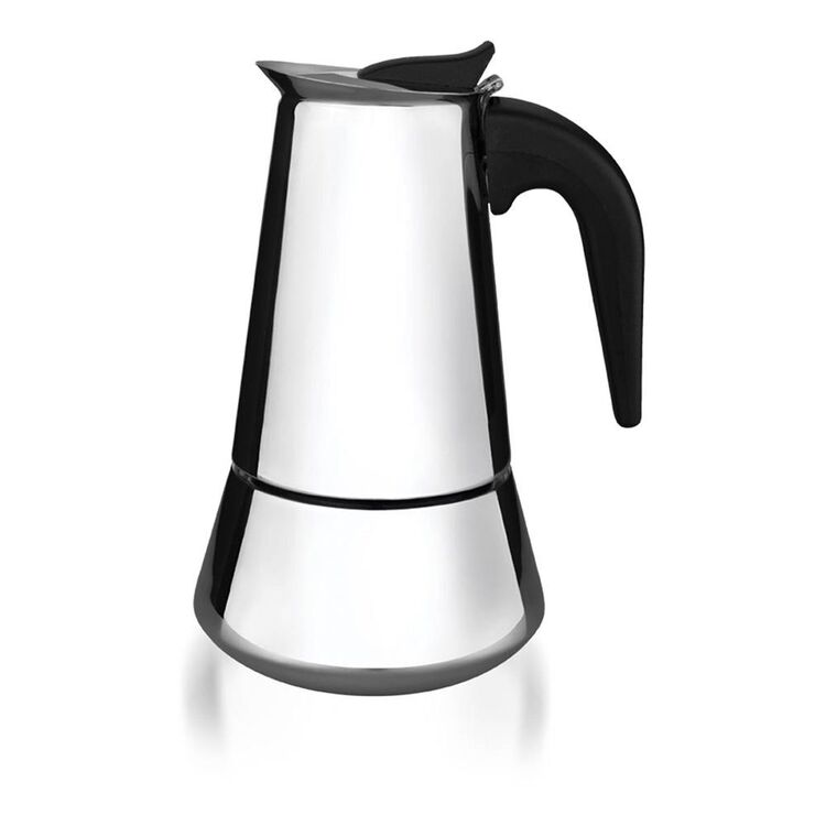 TRAMONTINA Stainless Steel Coffee Maker 6 Cup/300ml