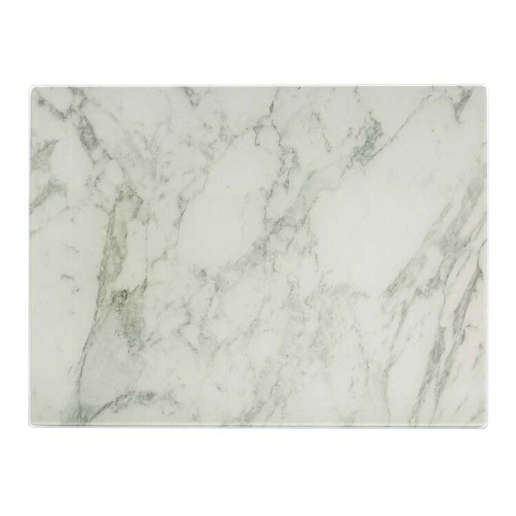 TYPHOON Marble Glass Work Board 40 x 30cm