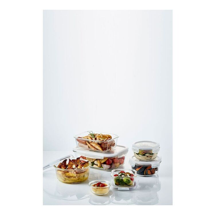 LOCK & LOCK Glass Rectangle Food Storage 1L
