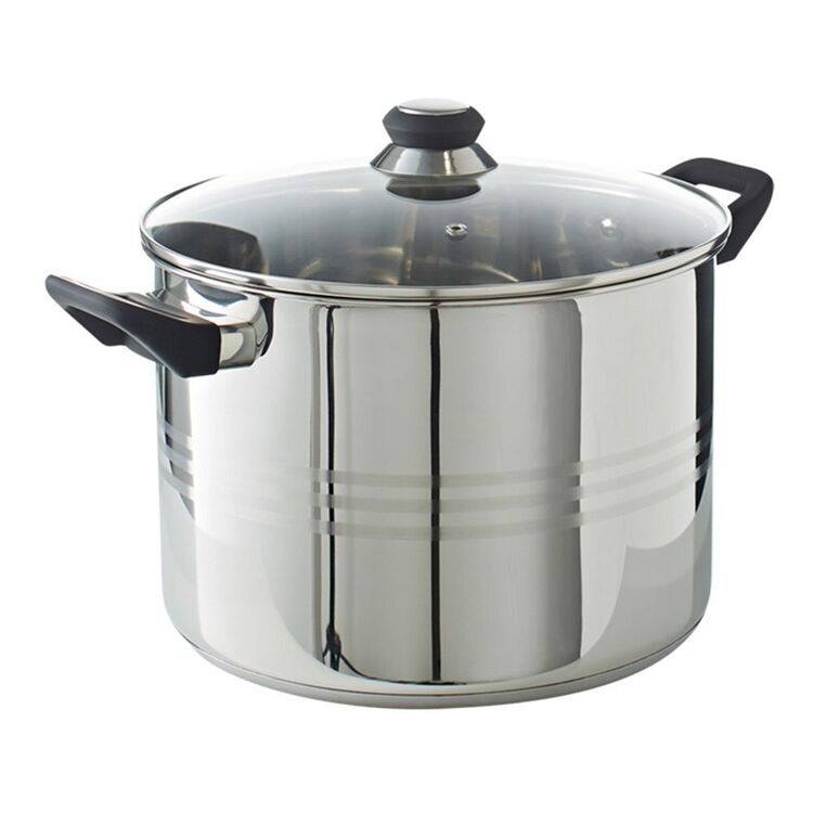 SMITH & NOBEL Traditions Stainless Steel Stockpot 28cm