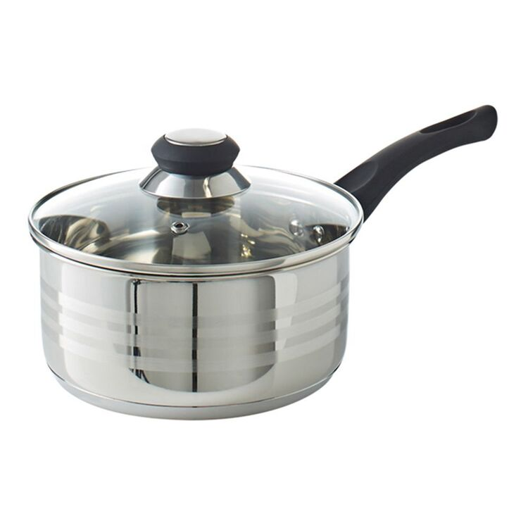 SMITH & NOBEL Traditions Stainless Steel Saucepan 18cm
